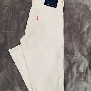 Levi's Slim White Jeans